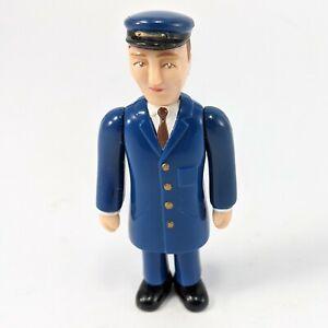 "Thomas & Friends Tank Engine Railway Staff Conductor Action Figure 3.75"""