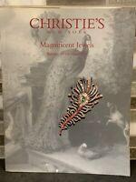 Christie's Magnificent Jewels Auction Catalogs 1999 New York
