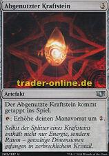 2x Abgenutzter Kraftstein (Worn Powerstone) Commander 2014 Magic