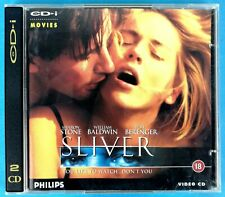 SILVER - SHARON STONE - WILLIAM BALDWIN - VIDEO CD - RARE