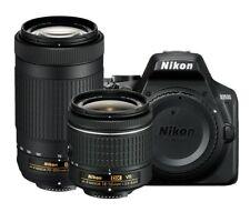 Nikon D3500 DSLR Camera Bundle with 18-55mm VR + 70-300mm Lenses Built-in Wi-Fi