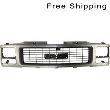 Grille W/ Single Sealed Beam Headlight Holes Fits C/K FullSize Pickup GM1200356