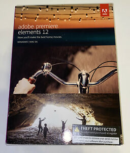 Adobe Premiere Elements 12 for PC or MAC New Sealed