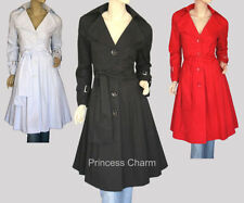 Cotton Trench Plus Size Coats & Jackets for Women