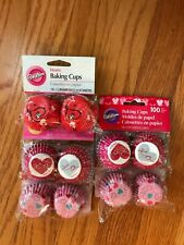 Wilton & Sweet Creations Valentines Baking Cups Cupcake Liners 500 count total