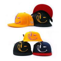 Lächeln Smile Kinder Jungen Mädchen Mütze Baseball Cap Kappe Basecap Hiphop Hüte