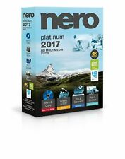 Nero 2017 Platinum 4k HD Multimedia Suite for Windows