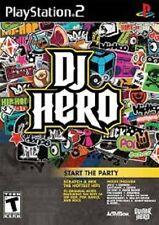 DJ HERO PER PLAYSTATION 2 GAME PS 2 GIOCO USATO COME NUOVO