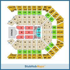 Justin Timberlake Las Vegas Aug 8 Sec 207 Row G