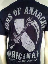 Otoño' 13 Auténtico Sons Of Anarchy Cali Original Soa Samcro Motero Camiseta