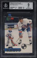 1994-95 Stadium Club Members Only Uwe Krupp Mint BGS 9 Subs 9.5 NY Islanders