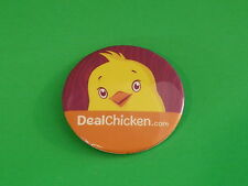 BUTTON ~ DealChicken.com ~ Pinback ~ See STORE For 100s More ++