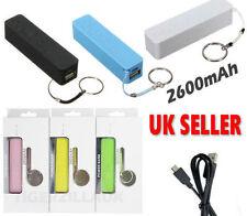 10x 2600mAh USB Power Bank Portatile Esterno Caricabatterie per Smartphone