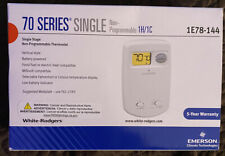70 Series Non-Programmable Single Stage Thermostat Vertical Profile