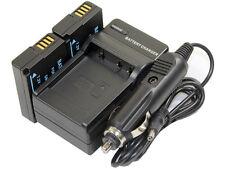 new 2pcs DMW-BLD10 Battery and Charger for DMC-G3 GF2 GX1 GF2R G3WK GF2P GF2CS
