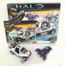 Halo Mega Bloks - #96805 UNSC ROCKET WARTHOG - with Box & Instructions (C013)