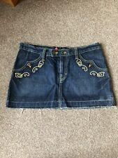 H&M Western Style Denim Skirt Sz 40 / 12