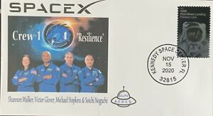 AFDCS SPACE X Nov 15, 20 Crew-1 KSC Resilience Glover Hopkins Noguchi Walker