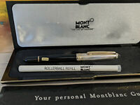 MONTBLANC Meisterstuck Solitaire Doue Sterling Silver 163 Rollerball Pen, NOS!