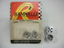 RANNALLI CUSTOM WHEELS #2404  --  Set of 4