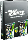 NRL 2015 RUGBY LEAGUE - Traders Official Trading Card Collector Album #NEW
