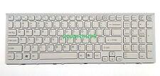 New Sony VAIO PCG-71913L PCG71913L PCG-71914L PCG71914L White Keyboard W/Frame