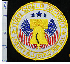 TITAL SHIELD SECURITY LIBERTY BELL PATCH