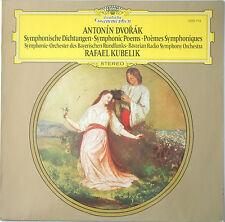 DVORAK Symphonic Poems KUBELIK/BAVARIAN DGG 2530713 LP