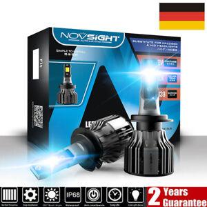 2x NOVSIGHT H7 LED 72W 10000LM Scheinwerfer Birnen Headlight Mit Canbus Lampen