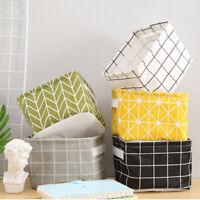 Foldable Storage Basket Underwear Cosmetic Jewelry Cosmetics Container Organizer