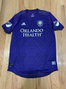 Adidas Orlando City Home Jersey Climacool Men's Soccer Purple DP4792 Sz L NWT
