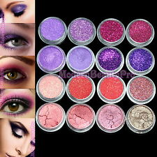 16 Mix Color Eyeshadow Eye Loose Powder Cosmetics Makeup Salon Artist Set #2