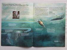 6/1981 PUB IBM SUBMARINE WARFARE WWI HMS HOGUE CRESSY ABOUKIR U-9 WEDDINGEN AD