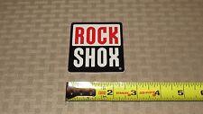 Rock Shox Classic Logo Decal, Original Rock Shox Design Sticker - New