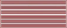 1/16 INCH (.0625) VINYL PEEL STICK HO SCALE STRIPES STRIPE DARK RED DECALS
