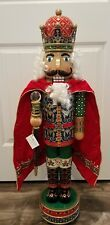 "Christopher Radko 36"" Crimson Splendor Limited Edition Musical Nutcracker Series"