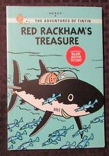 2011 Adventures of TINTIN Red Rackham's Treasure SC VF+ 8.5 1st Little Brown Co.