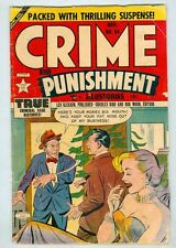 Crime and Punishment #64 November 1953 G/VG