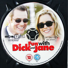 FUN WITH DICK AND JANE DVD Movie Film - DISC ONLY *
