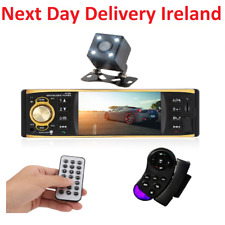 Bluetooth Car Van FM Radio Stereo MP3 Player Aux Input Rear View Camera Remote