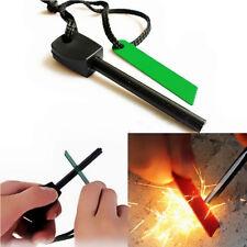 Survival Camping Magnesium Flint Striker Stone Fire Steel Starter Lighter Kits