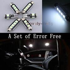19*White Interior Lights Package LED Bulbs Full Set for BMW 5 Series E60 E61