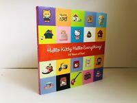 Hello Kitty Hello Everything Book NEW! Rare!