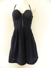 Guess Corset Fit & Flare Cotton Dress Size 1