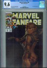 MARVEL FANFARE #56 CGC 9.6, 1991, SHANNA PAINTED COVER