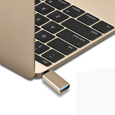 """Gold Standard  USB-C 3.1 Type C Male to USB 3.0 Female Adapter for MacBook 12"""""""