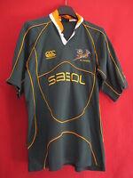 Rugby Trikot Südafrika Springboks Sasol Canterbury Sport vintage - 14 Jahre