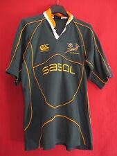 Maillot Rugby Afrique du sud Springboks SASOL Canterbury Sport Vintage - 14 ans