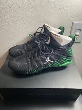 Jordan x Oregon Player Edition Alpha Menace Football Cleats Size 9