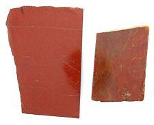 102.9 Gram Two Solid Brick Red Jasper Cab Cabochon Slab Gem Gemstone Rough RJS2